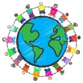 5336284-vector--illustration-of-a-group-of-kids-with-different-races-holding-hands-around-the-globe